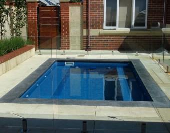 New vinyl pools