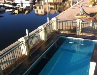 Tiled pools