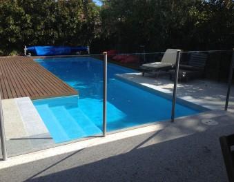 Renovated pools